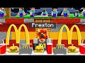 I Built a SECRET Restaurant on Noob1234's Minecraft World!