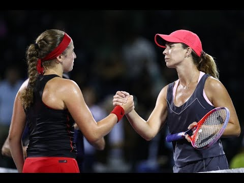 2018 Miami Semifinals | Jelena Ostapenko vs. Danielle Collins | WTA Highlights