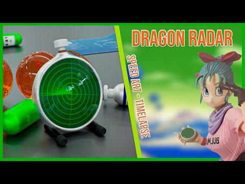 Vidéo SpeedArt - Dragon Radar