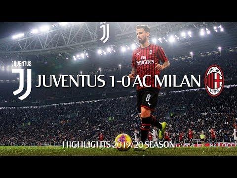 Highlights | Juventus 1-0 AC Milan | Matchday 12 Serie A TIM 2019/20