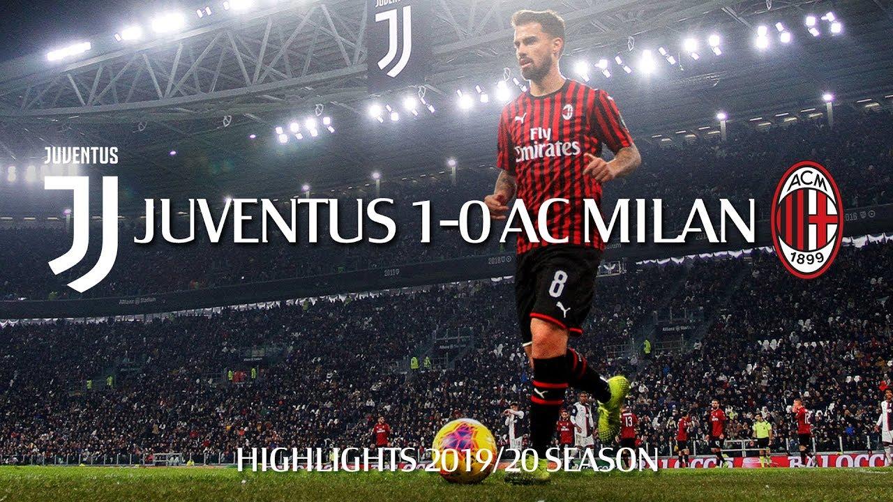 Highlights   Juventus 1-0 AC Milan   Matchday 12 Serie A TIM 2019/20