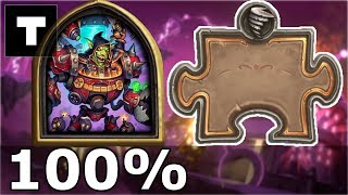 Hearthstone: The Puzzle Lab -  Board Clear | Dr. Boom 100%