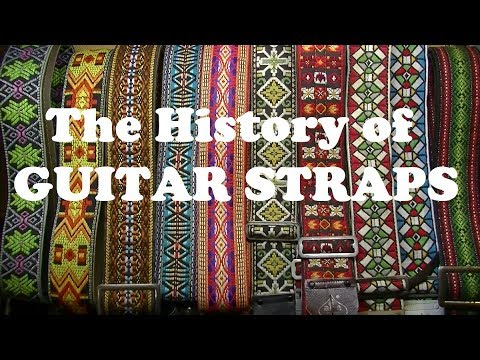 The Fascinating History of Guitar Straps - Collectors and Buyers Guide
