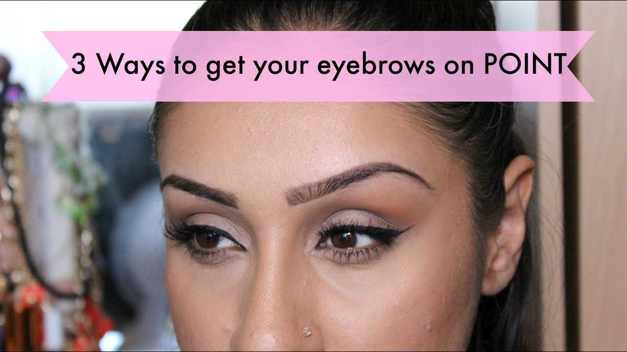 how to add makeup to eyebrows