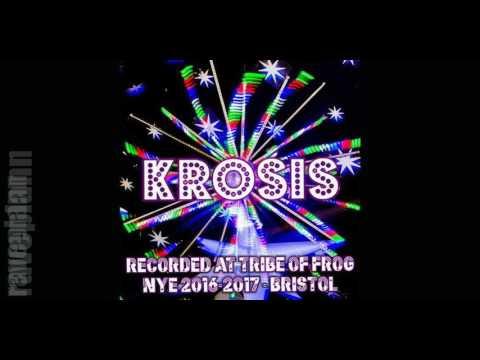 Dark Psytrance Krosis Recorded at Tribe of Frog NYE 2016 2017