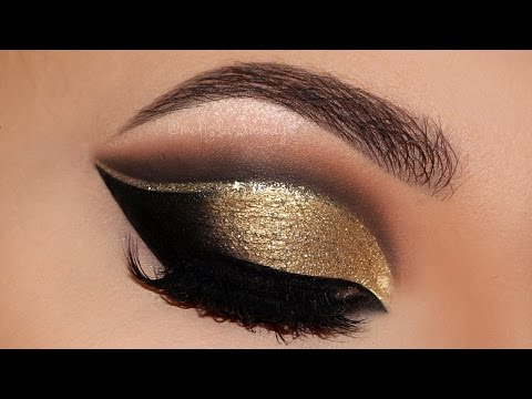 Cut Crease Glam New Years 2017 Party Makeup Tutorial