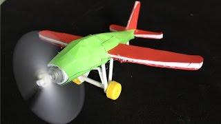 bir elektrik uçak yapmak - kağıttan uçak