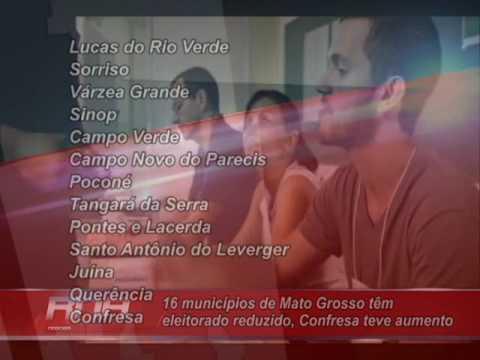 Vila Rica e mais 16 municípios de Mato Grosso têm eleitorado reduzido, Confresa teve aumento