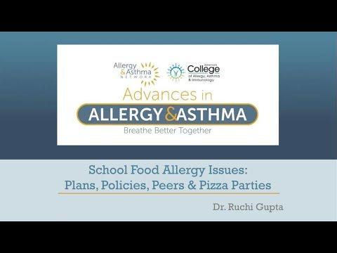 School Food Allergy Issues: Plans, Policies, Peers & Pizza Parties