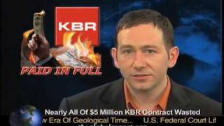 Nearly All Of $5 Million KBR Contract Wasted