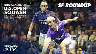 Squash: Men\'s Semi-Final Roundup - US Open 2018