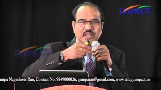 I Can Make a Difference by Dr BV Pattabhiram at IMPACT SEPT 2015
