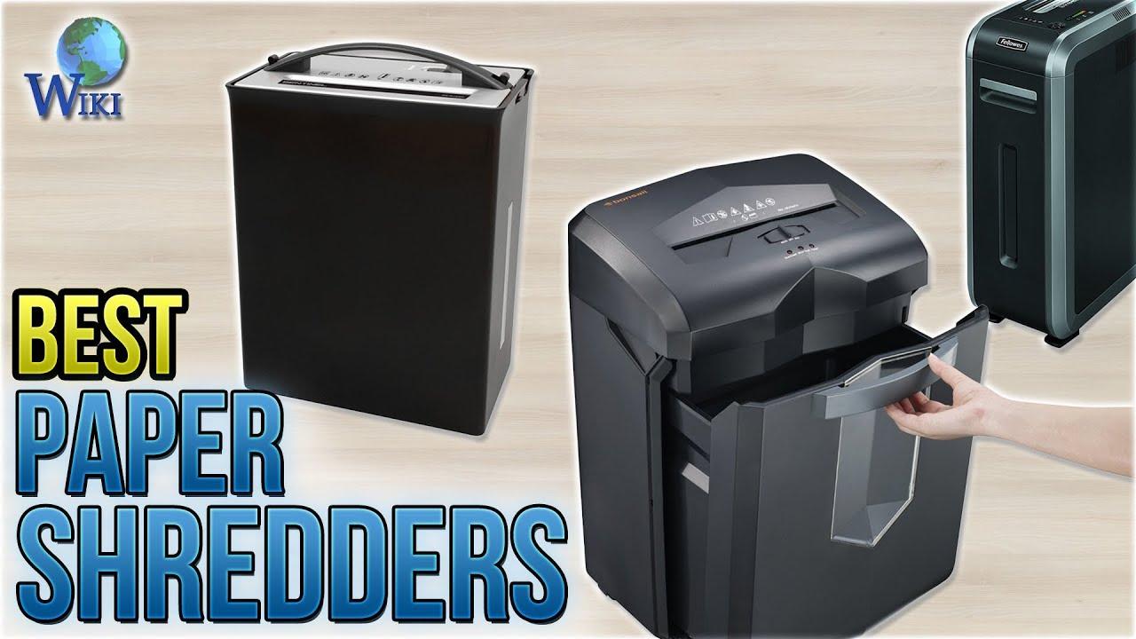 10 Best Paper Shredders 2018