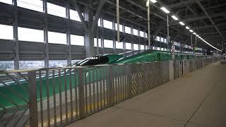 JR東日本東北新幹線H5系 東京行はやぶさ36号 新青森駅発車