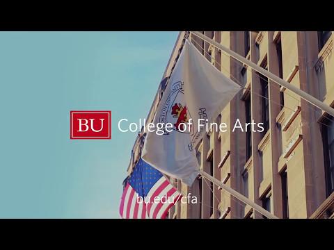 We are BU College of Fine Arts.