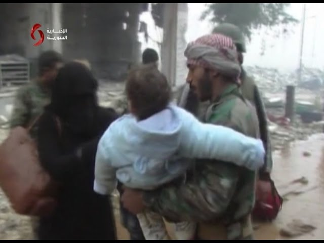 Amazing!  What you will never see on MSM about the arab Syrian army in Aleppo