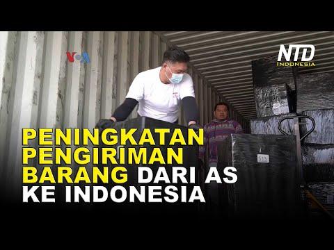 Peningkatan Pengiriman Barang dari Amerika ke Indonesia