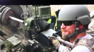 105mm howitzer training with M557 fuze