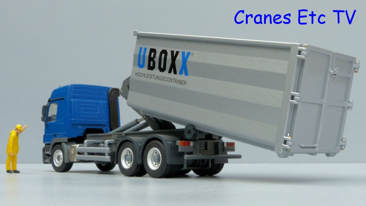 Conrad Mercedes Benz Actros Truck Uboxx Hook Arm