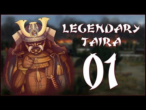 POWER OF THE CRANE - Fukuhara Taira (Legendary) - Rise Of The Samurai - Ep.01!