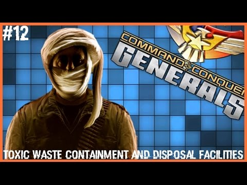 Command and Conquer: Generals | Mission 5 (GLA) - TOXIC WASTES CONTAINMENT AND DISPOSAL FACILITIES
