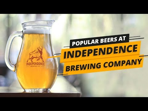 Popular Beers At Independence Brewing Company