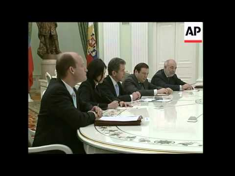 Putin meets chief executive of British Petroleum