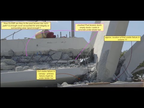 FIU Bridge Collapse Jack Extension also Jack hammering cause of collapse?