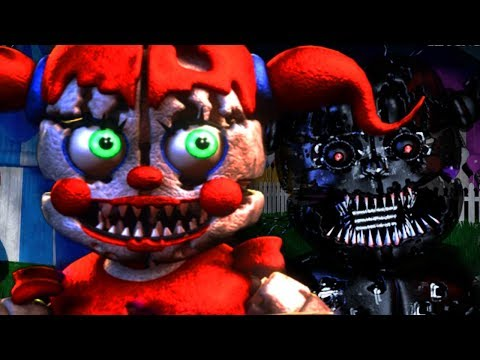 THE NIGHTMARE FUNTIME ANIMATRONICS RETURN.. IN A NEW LOCATION   Baby's Nightmare Circus Bike Fighter