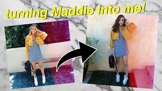 TRANSFORMING MADDIE ZIEGLER INTO ME! | Summer Mckeen 2017 Video