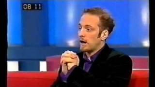Derren Brown freaks out Richard Blackwood and Edith Bowman