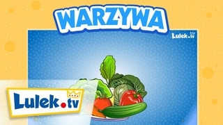 Nauka nazw warzyw dla dzieci I Lulek.tv