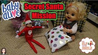 Video Baby Alive Emma's Secret Santa Mission | Kelli Maple download MP3, 3GP, MP4, WEBM, AVI, FLV Januari 2018