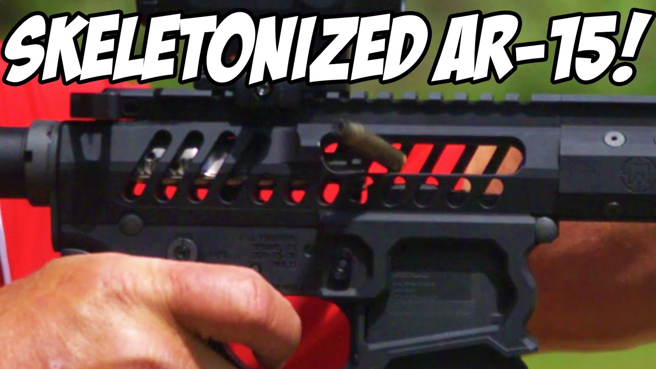 Light-Weight Skeletonized AR-15 & April Giveaway Announcement! |WE ARE  GIVING THIS RIFLE AWAY!