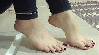 Beautiful feet of girls