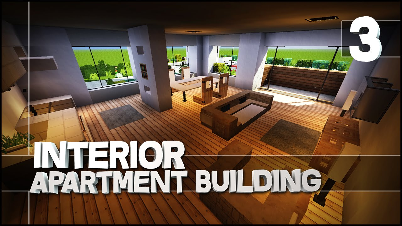 minecraft let 39 s build modern apartment building part