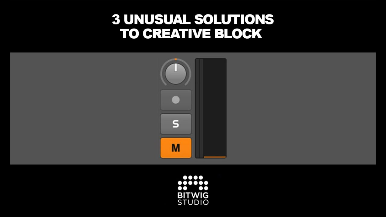 Unusual Solutions To Creative Block