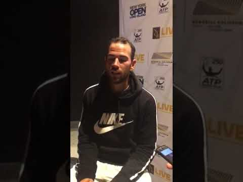 Adrian Mannarino Talks at New York Open About His Best Career Ranking