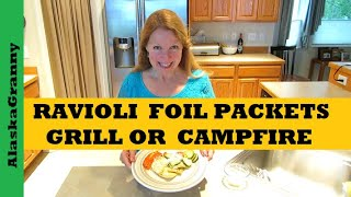 Ravioli Foil Packets Recipe