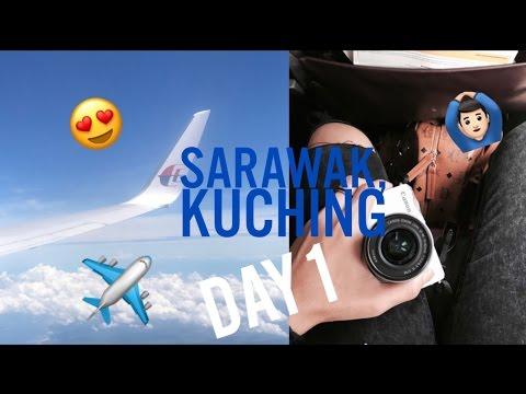 #5 VLOG | SARAWAK, KUCHING DAY 1!
