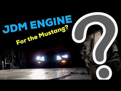 JDM engine for the  2015 Mustang Drift car Build?