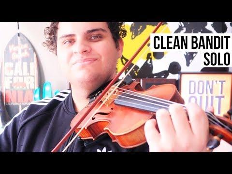 clean bandit violinist new