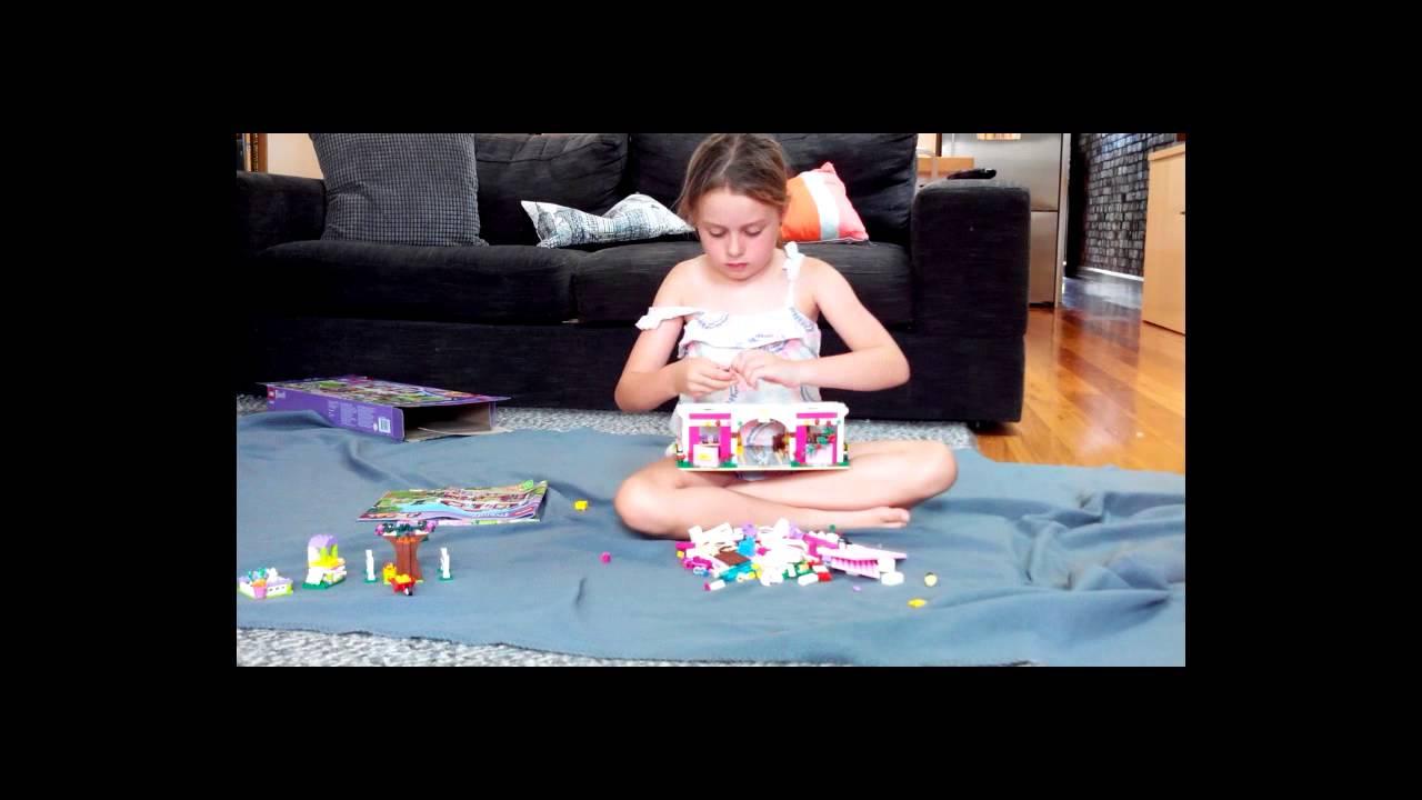 Zoezoe Lego Friends Farm01 (in fast mode) - YouTube