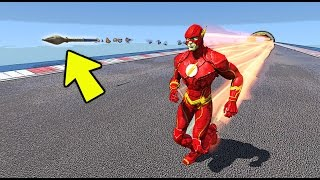 O FLASH VS RPG QUEM É MAIS RÁPIDO no GTA 5?