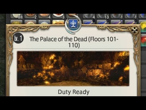 Final Fantasy XIV - Palace of the Dead (Floors 101-110) - Patch 3.45