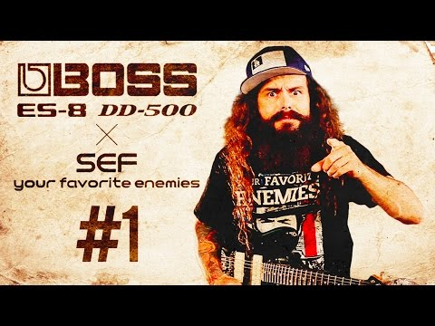 BOSS ES-8 Effects Switching System #1 featuring SEF of Your Favorite Enemies