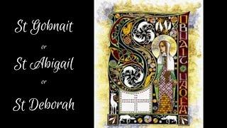 St Gobnait - Sr Bernadette Cool, FoH