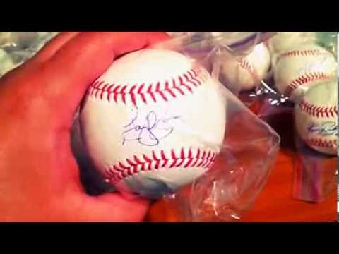 2014 Spring Training Autograph Recap  Youtube