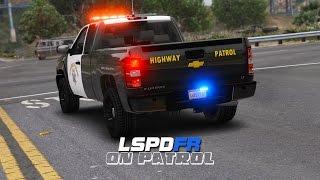 LSPDFR - Day 202 - Highway Patrol Silverado