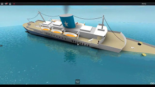 Roblox Ships Sinking Scenes (Friends)